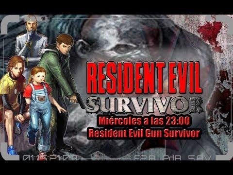 ➡Resident Evil Gun Survivor Completo en Directo⬅