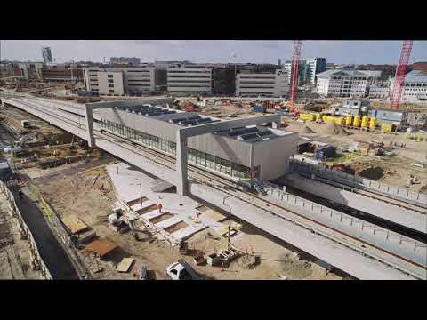 ZÜBLIN A/S - Project Copenhagen Metro: Drone Flight II
