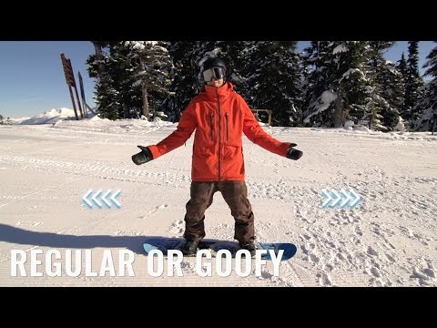 Are You Regular Or Goofy On A Snowboard""