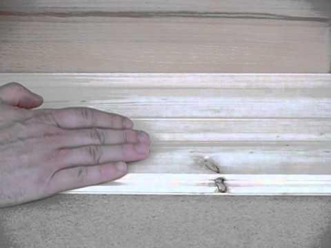 Golvskruv för massivt trä