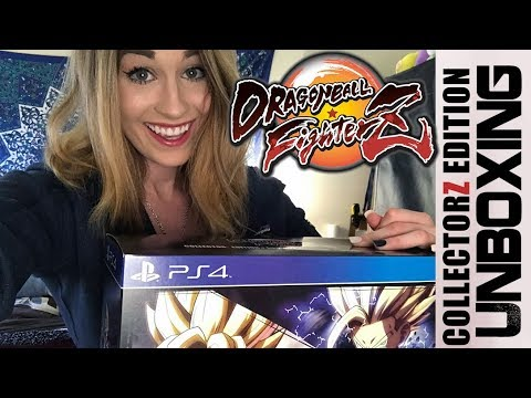 Dragon Ball FighterZ CollectorZ Edition UNBOXING!