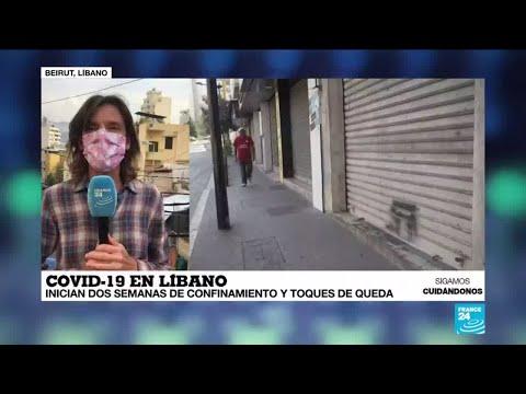 Informe desde Beirut: Inician dos semanas de confinamiento y toques de queda