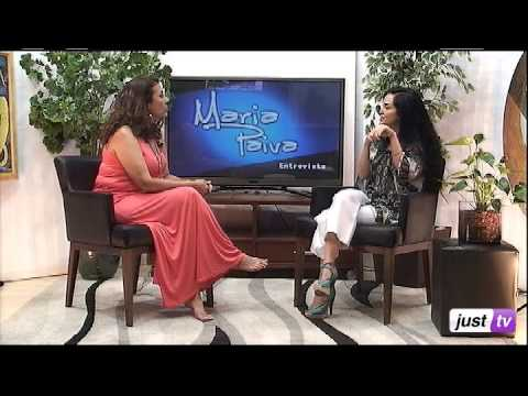 Lelah Monteiro - Maria Paiva Entrevista - JustTV