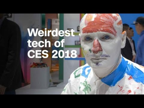 The most bizarre things we saw at CES 2018