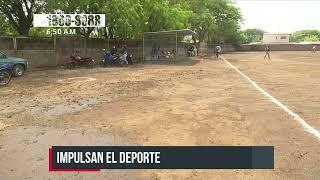 Managua: Construyen más campos deportivos para la recreación de los jóvenes - Nicaragua