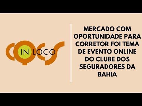 Imagem post: Mercado com oportunidade para Corretor doi tema de evento online do Clube dos Seguradores da Bahia
