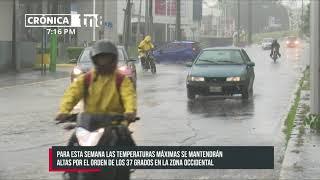 Temperaturas máximas se mantendrán en 37 grados en occidente del país - Nicaragua
