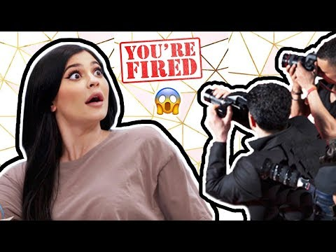 connectYoutube - Pregnant Kylie Jenner CAUGHT her Employee Snapping Pics