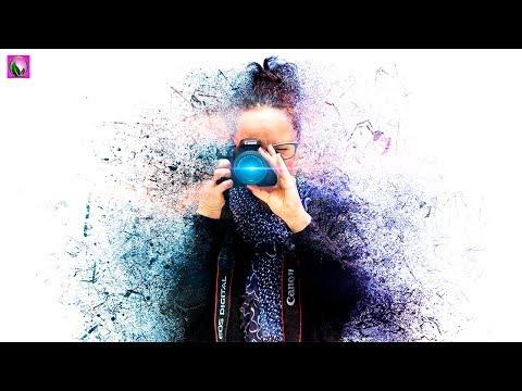 Chilling Degradation Effect In Photoshop - Photoshop Splatter Effect