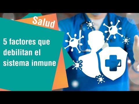 5 factores que debilitan el sistema inmune | Salud
