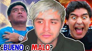 Maradona, ¿era buena o mala persona ???? Lo que dicen de él es...