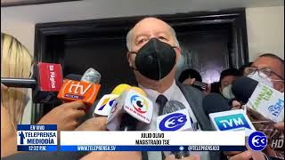 #Teleprensa33    TSE confirma inicio de proceso sancionatorio
