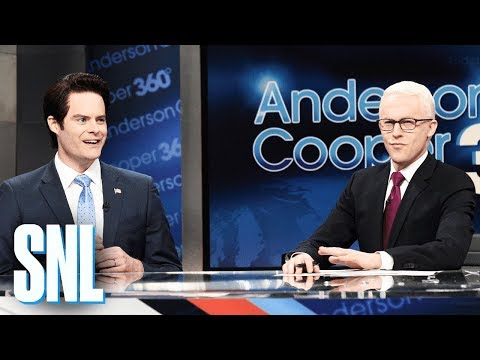 connectYoutube - Anderson Cooper White House Turmoil Cold Open - SNL