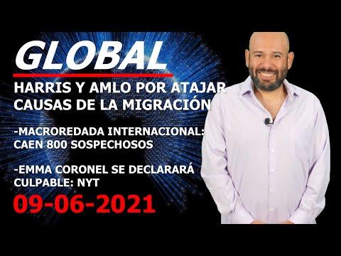 MÉXICO:ENCUENTRO HARRIS-AMLO ESPOSA DEL CHAPO SE DECLARÍA CULABLE:NYT CAEN 800 EN MACRO REDADA