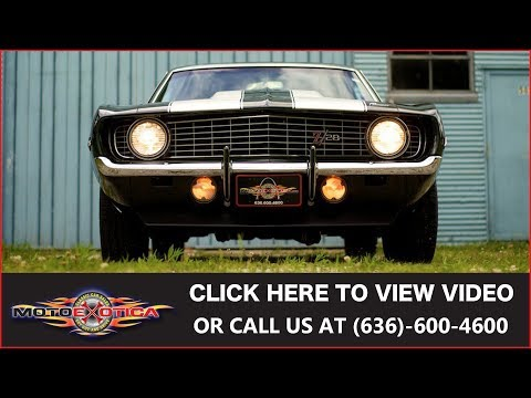 Download Youtube Mp3 For Sale 1969 Chevrolet Camaro Matching Numbers Hd