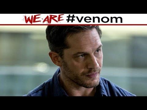 Venom Movie - First Look at Tom Hardy As Eddie Brock!