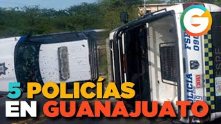 54 Policías en lo que va del año... HOY 5  #Guanajuato