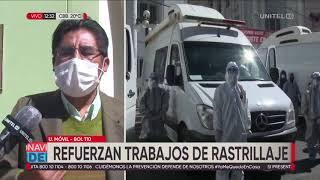 Gobernador Patzi confirma que habrán rastrillajes en viviendas de La Paz