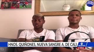Entrevista con dos de las jóvenes apuestas del América de Cali, Daniel y Felipe Quiñóñez