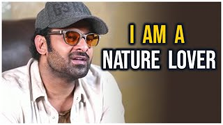 Prabhas About Adopting 1650 acres Reserve Forest Land | TFPC - TFPC