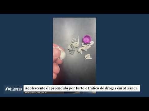 Adolescente é apreendido por furto e tráfico de drogas em Miranda