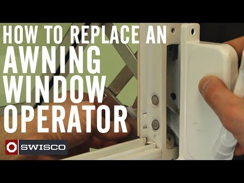 How to Replace an Awning Window Operator [1080p]