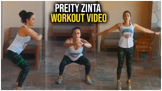 Preity Zinta Workout Video | Preity Zinta Latest Workout Video | Celebrities Workout Videos | TFPC - TFPC