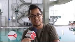 Clavadista Daniel Restrepo busca superar una pubalgia para llegar en forma a los Juegos Olímpicos