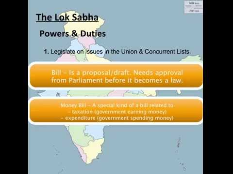 Gov India Explained - 3b. The Lok Sabha