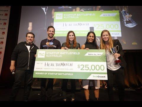 HealthMatch wins Startup Battlefield Australia