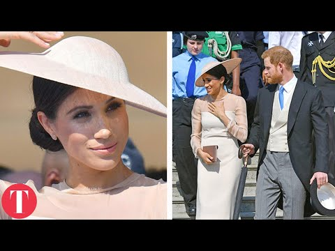 Meghan Markle And Prince Harry Make Their First Official Appearance Since The Royal Wedding