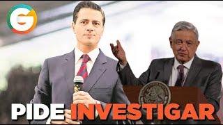 Familia de Peña Nieto recibió contratos millonarios ; AMLO pide investigación