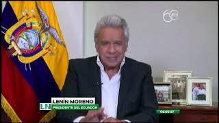 Lenín Moreno reaccionó a la destitución de la Ministra de Gobierno