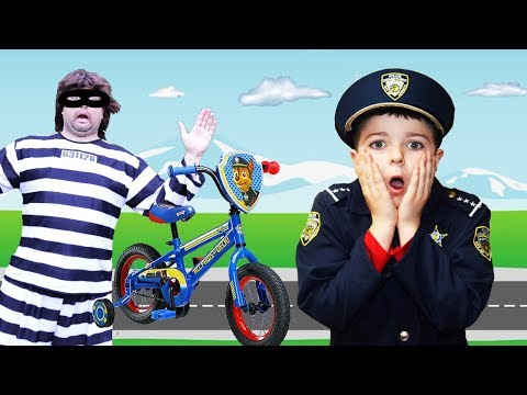 The Bike Thief! Featuring Sketchy Mechanic and the Kid Mystery!