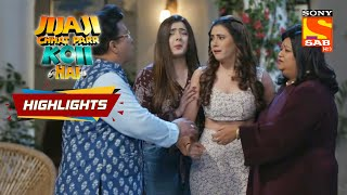 CP Is Scared Of Her Doppelganger | Jijaji Chhat Parr Koi Hai | Episode 41 | Highlights - SABTV