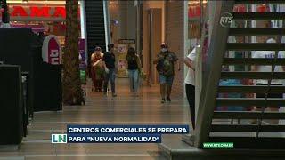 Centros comerciales se preparan para