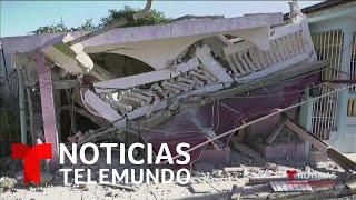 Otro sismo de magnitud 5.6 sacude Puerto Rico   Noticias Telemundo