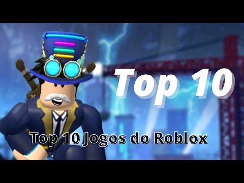 TOP 10 JOGOS DO ROBLOX 2020