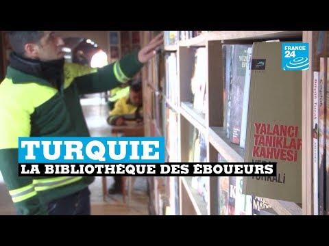 Turquie, la bibliothèque des éboueurs