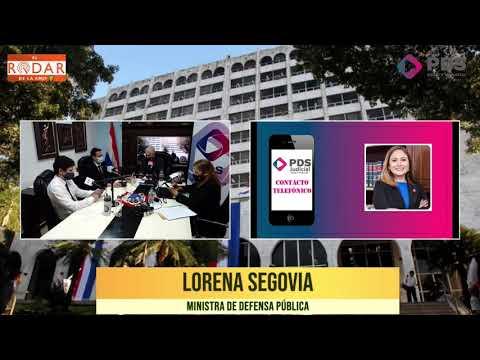 Entrevista- Lorena Segovia- Ministra de Defensa Pública