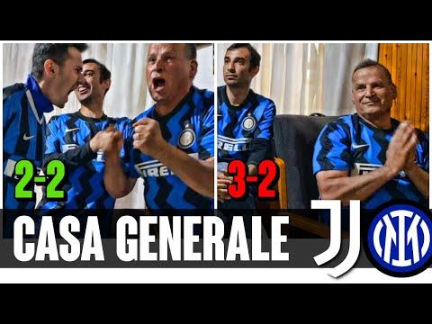[INDIGNATO] Il Generale come non l'avete mai visto! | LIVE REACTION JUVENTUS-INTER 3-2