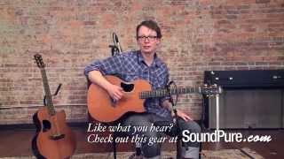 McPherson 4.5 Camrielle Cocobolo/ Redwood Acoustic Guitar Demo
