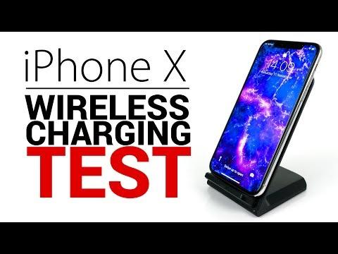 iPhone X - Wireless Charging SPEED TEST!