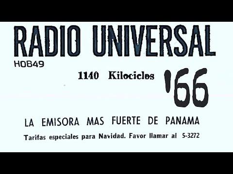 RADIO UNIVERSAL / 1966  (Panamá Radio Histórica)