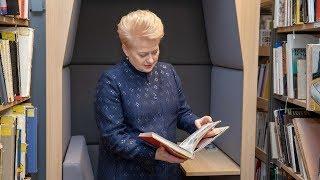 Prezidentė lankosi po rekonstrukcijos atidaromoje Vilniaus apskrities Adomo Mickevičiaus...