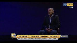 Conociendo a los comentaristas de Tigo Sports es turno del experimentado en Radio y Tv Jaime Galarza