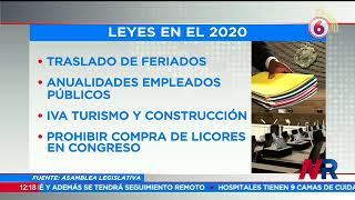 Diputados aprobaron 91 leyes este 2020