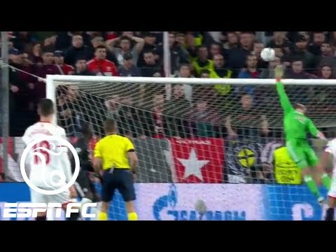connectYoutube - David de Gea's brilliant saves keep Sevilla from scoring vs. Manchester United | ESPN FC