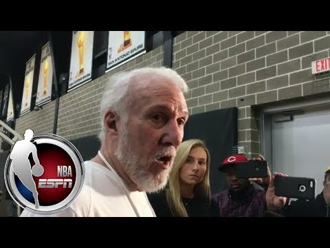 connectYoutube - Gregg Popovich on Kawhi Leonard: 'I'll be surprised if he returns this season' | ESPN