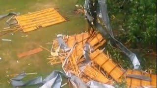 Orages: des dégâts et des inondations près de Paris   AFP